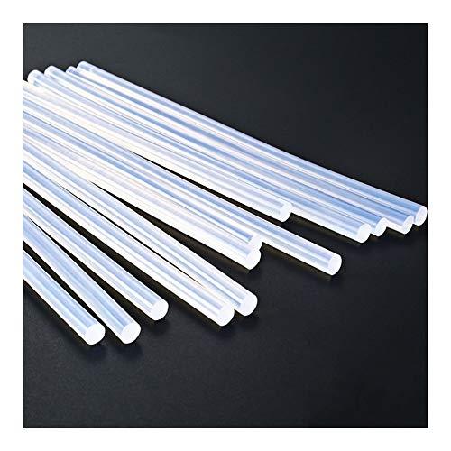 FMN-DJU Lijmstift, 7 mm, 11 mm, 300 mm, 10 stuks, transparant voor hete lijmpistool voor huishouden, industrieel Fai-da-Te pistool voor elektrische lijm