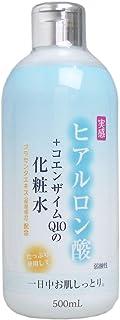 ヒアルロン酸+コエンザイムQ10 化粧水 500mL