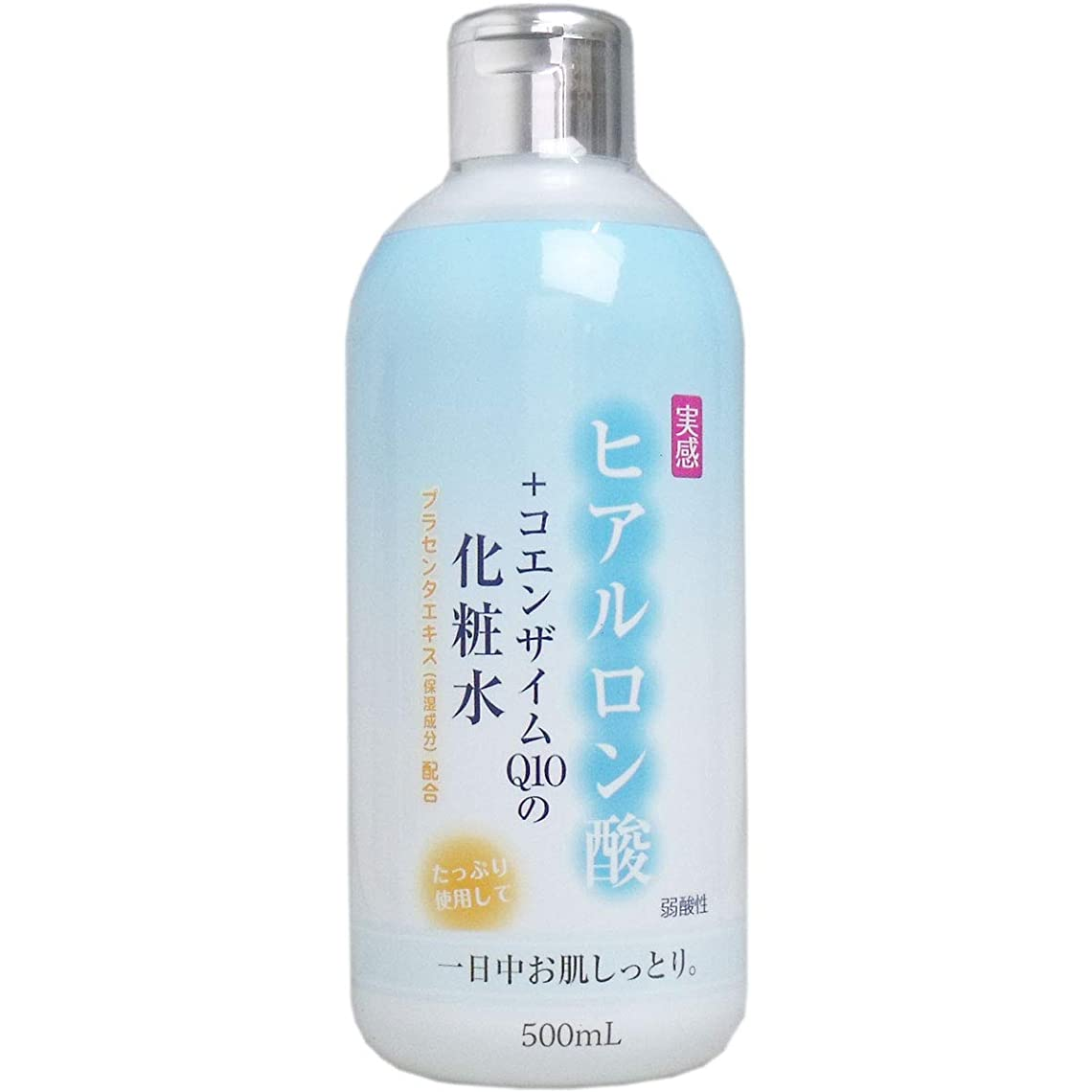 無心集まる環境ヒアルロン酸+コエンザイムQ10 化粧水 500mL