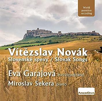 Novák: Slovak Songs