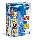 Clementoni-Galileo Science El Cuerpo Humano, Juego de experimentos para niños a Partir de 8 años, Juguete para comprender la anatomía, los órganos y el Esqueleto, Multicolor (69489)