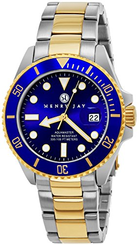 Henry Jay Mens Professional Dive Watch