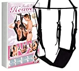 You2Toys love swing - sex swing for couples, love swing for the ceiling, erotic swing, loadable up to 120 kg, various sex positions, black