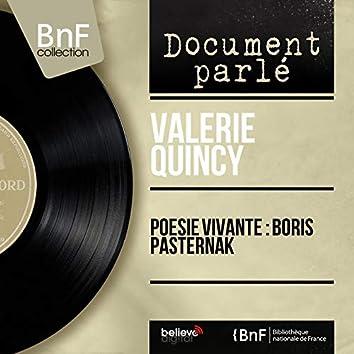 Poésie vivante : Boris Pasternak (Mono Version)