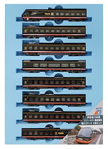 マイクロエース Nゲージ 伊豆急2100系 リゾート21 ・ 黒船電車 ・ 新ロゴマーク 8両セット A6275 鉄道模型 電車