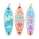 Vidal Regalos Adorno Pared Decorativo x3 Tablas De Surf 30 centimetros