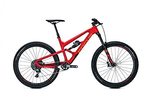 Mountainbike Focus Sam C Team 11G SRAM XX1 27,5' heren, framehoogte:52; kleur: rood/oranje