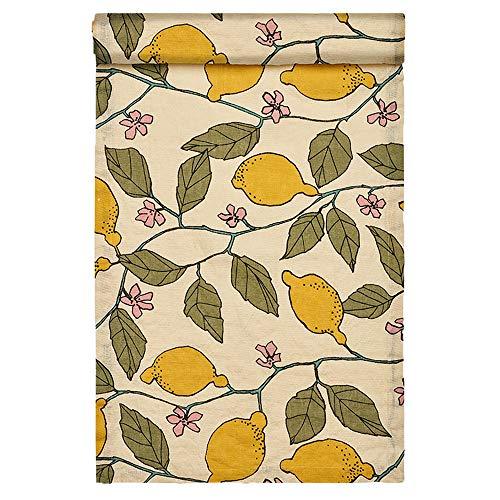 Linum Isabella Tischläufer, Cotton, Cremebeige, 45 x 150 cm