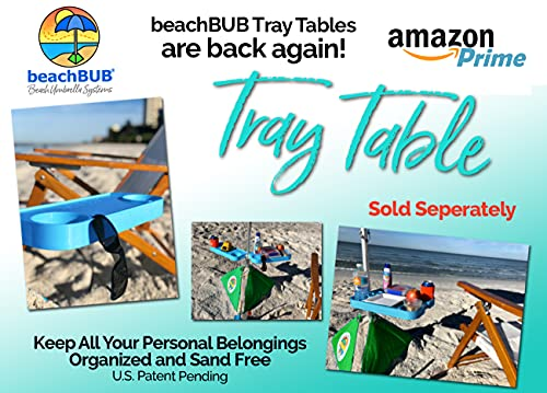 BEACHBUB All-in-One Beach Umbrella System