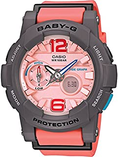 G-Shock BGA180-4B2 Baby-G Series Stylish Watch - Orange / One Size