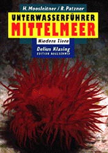 Unterwasserführer, Bd.4, Mittelmeer, Niedere Tiere (Edition Freizeit und Wissen / Unterwasserführer)