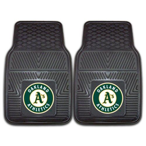 Fanmats 8844 MLB-Oakland Athletics Vinyl Universal Heavy Duty Fan Floor Mat