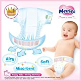 Japanische Windeln Merries M (6-11 kg)// Japanese diapers – nappies Merries M (6-11 kg)// Японские подгузники Merries M (6-11 kg) - 8