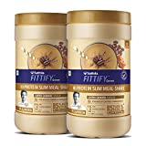 Saffola FITTIFY Hi Protein Slim Meal-Shake, Meal Replacement with 5 superfoods, Coffee Caramel