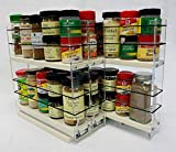 Vertical Spice - 222x2x11 DC - Spice Rack - Cabinet Mounted- 3 Drawers - 30 Capacity - New and...