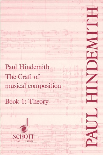 Craft of Musical Composition: Book One, Theoretical Part (Tap/159)