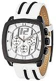 Puma Drift - Reloj de Cuarzo para Hombres, Color Blanco