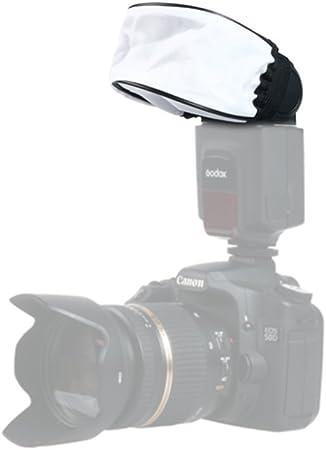 GFCGFGDRG Universal-Soft-Kamera Blitz-Diffusor Tragbare Tuch reflektierende Abdeckung Tragbare Softbox Blitz Reflektierende Abdeckung DSLR Blitzzubeh/ör