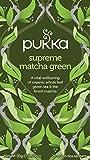 Pukka Supreme Matcha Green, Organic Herbal Green Tea with Oothu, Sencha & Suio