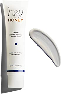Hey Honey,Relax,Propolis & Honey Soothing Cream.Oil-free, soothing and calming moisturizer for complex, sensitive and irri...