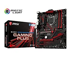 Supports 9th / 8th Gen Intel Core / Pentium Gold / Celeron processors for LGA 1151 socket, Supports DDR4 Memory, up to 2666 MHz MYSTIC LIGHT and Sync: Personalize your PC with 16.8 million colors / 10 effects controlled in one click with the Mystic L...