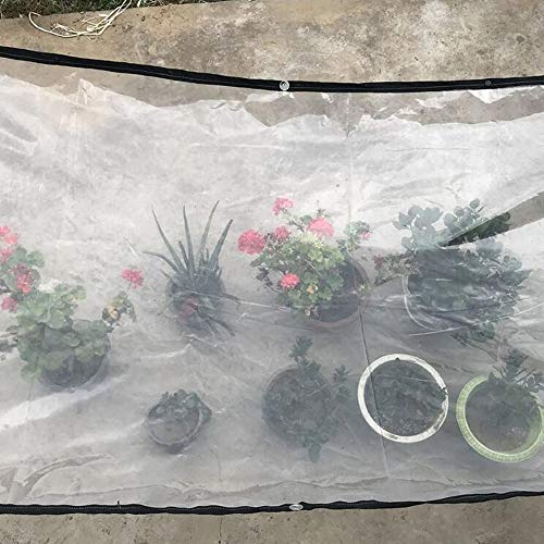 QI-CHE-YI Heavy duty tarpaulin, tarpaulin tarpaulin, suitable for greenhouse film, plastic covering, weed barrier, etc,2x4m