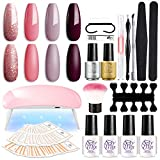 Best Home Gel Nail Kits - SEXY MIX Gel Nail Polish Starter Kit Review