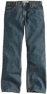 Boys 8-20 Classic Relaxed Straight Jeans in Regular & Slim (Medium Tint, 18 Regular)