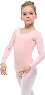 STELLE Long Sleeve Ballet Leotards for Girls Winter Dance