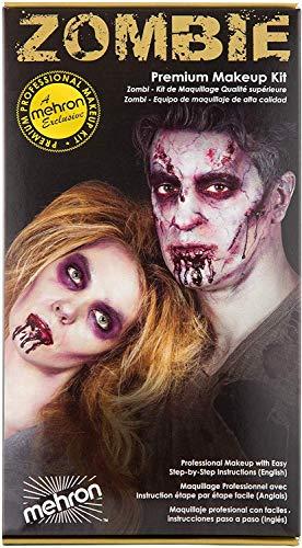 Mehron Makeup Premium Character Kit (Zombie)