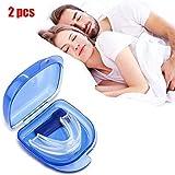 WUHX Embout buccal Snore Stopper, Naturel, Confortable - Prévenez Le ronflement et Le grincement des Dents - Aide au...