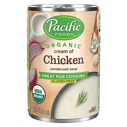 Pacific Foods Organic Cream of Chicken Condensed Soup, 10.5oz (Pack of 12)