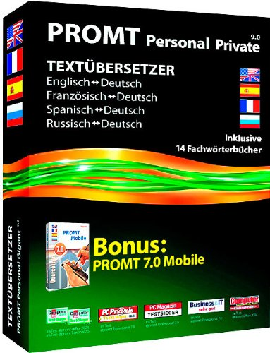 PROMT 9.0 Personal Private inkl. PROMT Mobile 7.0 Gigant