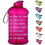 AquaTime Time Marked Fruit Infuser Water Bottle...