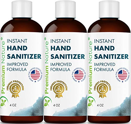 Instant Hand Sanitizer Gel – IN STOCK ON AMAZON!