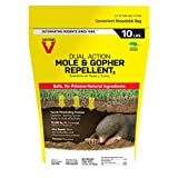 Victor M7002-2 Mole & Gopher Repellent, Yellow