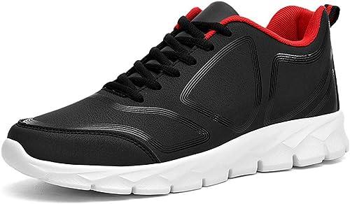 Hiver Casual Hommes Chaussures Bas Chaussures De Plein Air Sports Grandes Chaussures de Course 48 Rouge, Vert Fluorescent,rouge,39