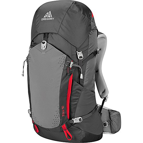 Gregory Mountain Products Zulu 40 Liter Men's Backpack, Feldspar Grey, Large