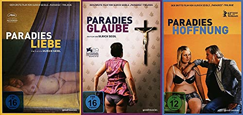 Paradies Trilogie von Ulrich Seidl – Liebe + Glaube + Hoffnung 3 DVD Limited Edition