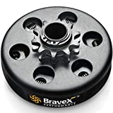 Bravex Centrifugal Go Kart Clutch 3/4' Bore 10 Tooth 10T For #40/41/420 Chain 6.5HP - Upgrade …