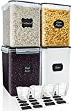 Best Flour Containers - Large Food Storage Containers 5.2L (175oz), MCIRCO 4 Review