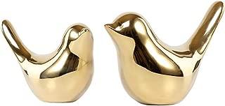 Fantastic Ryan Animal Decorative Ornaments Originality Home Decor Furnishing Golden Exquisite Modern Style (Golden Bird m&l)