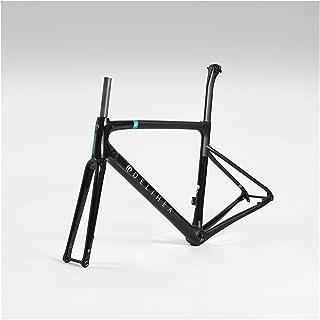 PPLAS Cadre de vélo en carbone blanc 2020 pour vélo de route (couleur : 2, taille : frein à disque)