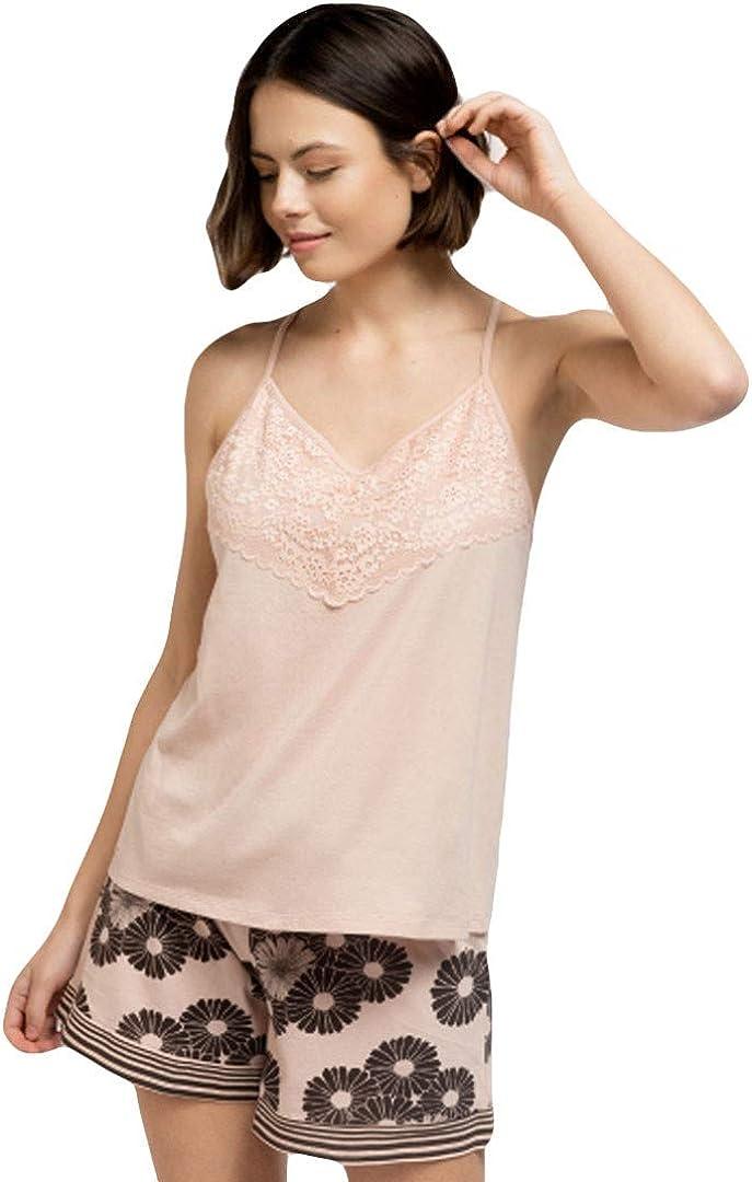 GISELA - Pijama Mujer Tirantes Mujer: Amazon.es: Ropa y ...