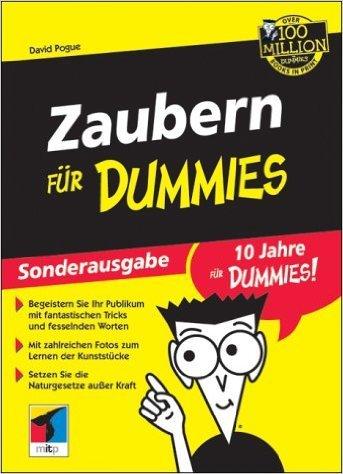 Zaubern für Dummies - Sonderausgabe von David Pogue ( November 2002 )