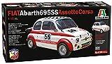 Italeri 4705S 4705-1:12 FIAT Abarth 695 SS/Assetto Corsa - Maqueta de construcción, sin barnizar