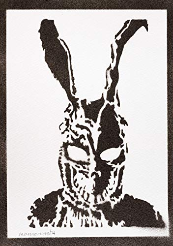 Donnie Darko Poster Frank Plakat Handmade Graffiti Street Art - Artwork