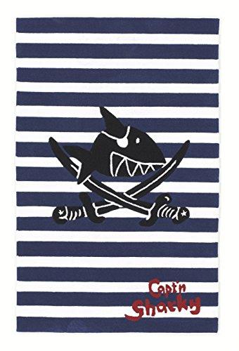 Capt´n Sharky Kinderteppich, Blau