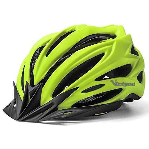 VICTGOAL Casco Bicicleta Adulto Unisexo para Ciclismo MTB Road Race Montaña Casco...