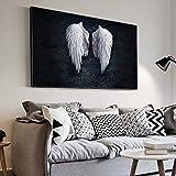 Cartel de alas de Arte de Pintura al óleo de impresión HD e impresión de alas poderosas decoración del hogar Pintura impresión de Arte Pintura sin Marco 30x40 cm